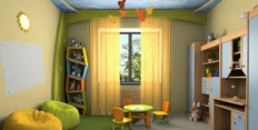 Как выбрать шторы для детской комнаты