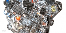Самый мощный двигатель