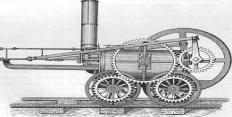 История изобретения паровоза