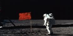 флаги в космосе